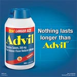 Advil Advanced Medicine for Pain, 200mg 超前止痛藥 - 錠 (360粒)