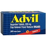 Advil Advanced Medicine for Pain, 200mg 超前止痛藥 - 錠 (200粒)