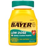 Bayer Aspirin Regimen, Low Dose (81mg) 止痛藥 (400粒)