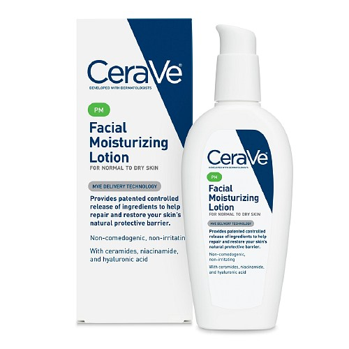 CeraVe Facial Moisturizing Lotion PM 夜間滋養乳液 (3oz)