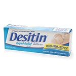 Desitin Rapid Relief Diaper Rash Cream, Creamy (4oz)