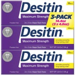 DESITIN Rapid Relief Diaper Rash Cream 快速緩解霜 (4.8oz * 3)