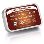 Dr. Bronner's Orange Lavender Organic Body Balm 有機柳丁薰衣草體膏 (0.5oz)