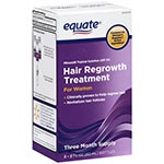 Equate Hair Regrowth for Women 2% 女性專用生髮液 (2oz*3, 3個月份)