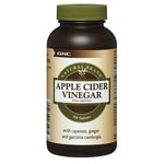 GNC Natural Brand Apple Cider Vinegar 蘋果醋 (120粒)