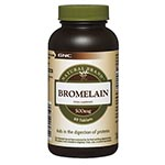 GNC Natural Brand Bromelain 500mg 鳳梨酵素 (60粒)