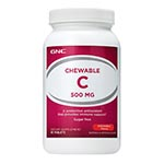 GNC Chewable C 500 with Cherry 維他命C+柑桔維生素 (90粒)