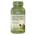 GNC Herbal Plus Saw Palmetto 160mg (100粒)
