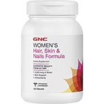 GNC Women's Hair, Skin & Nails Formula (120粒)