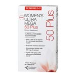 GNC Women's Ultra Mega 50 Plus, Timed Release 女性綜合維它命 (60粒)