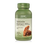GNC Herbal Plus Yohimbe Extract 450mg 育享賓- 增強精力 (100粒)