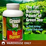 Green Tea Fat Burner Supplement 緣茶活力強效燃脂錠 (200粒)