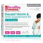 Healthy Mama Prenatal Vitamin & DHA Supplement Kit 懷孕維他命組 (共120粒)