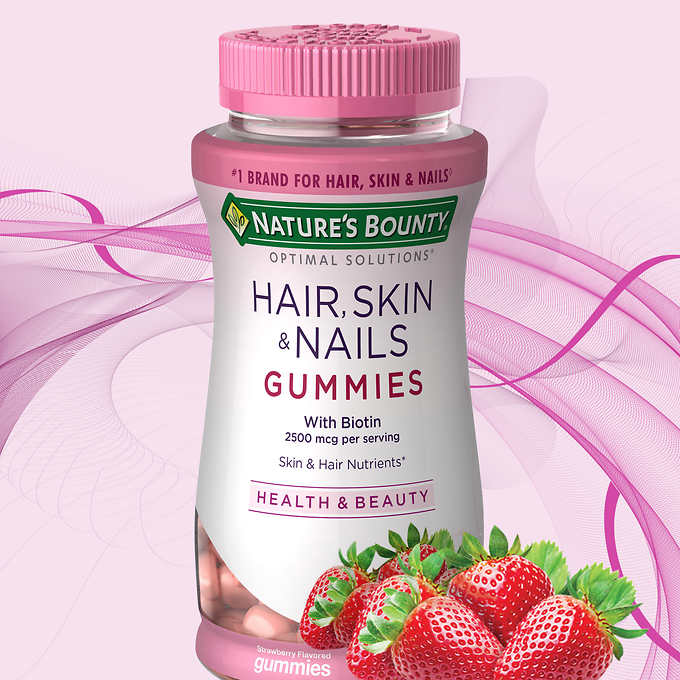 Nature's Bounty Hair, Skin and Nails 自然之寶膠原蛋白軟糖 (230粒)