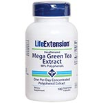 Life Extension Decaffeinated Mega Green Tea Extract 低咖啡因綠茶 (100粒)