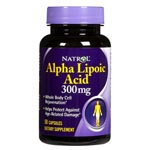 Natrol Alpha Lipoic Acid 300mg 硫辛酸 (50粒)