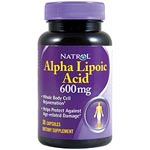 Natrol Alpha Lipoic Acid 600mg 雙倍成效硫辛酸 (30粒)
