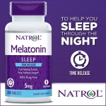 Natrol Melatonin 5mg, Time Release (250粒) (限用大固)