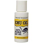 Natural Treasures Emu Oil 純鴯鶓油 (2oz)