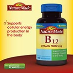 Nature Made Vitamin B-12 1000mg 維它命 B12 (400粒)