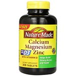Nature Made Calcium+Magnesium+Zinc 鈣+鎂+鋅 (300粒)