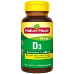 Nature Made Vitamin D3 400 IU 維他命D (100粒)
