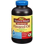 Nature Made Organic Flaxseed Oil 1400mg 有機亞麻子 (300粒) <新包裝>