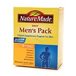Nature Made Men's Pack Daily Vitamins, 30 Day Supply 男性維它命 (30粒)