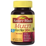 "Nature Made Multi For Her 50+ ""女性 - 50歲以上""綜合維他命 (90粒)"