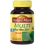 "Nature Made Multi For Him 50+ ""男性 - 50歲以上""綜合維他命 (90粒)"