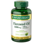 Nature's Bounty Flaxseed Oil 1200mg 亞麻子 (125粒)
