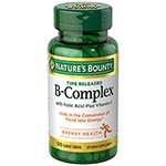 Nature's Bounty B-Complex w/ Folic Acid + Vitamin C 維他命B/C/葉酸 (125粒)