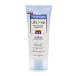 Neutrogena Ultra Sheer Dry-Touch SPF55 快乾輕爽防晒乳 (3oz)