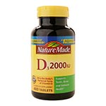 Nature Made Vitamin D3 2000 IU 維他命D (400粒)