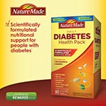 Nature Made Diabetes Health Pack 糖尿病專用維他命 (60包)