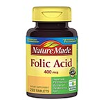 Nature Made Folic Acid 葉酸錠 400mcg (250粒)