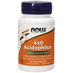 NOW Foods Acidophilus 4x6 活性乳酸菌 (120粒)
