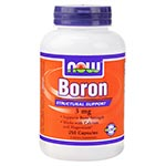NOW Foods Boron 3mg (250粒)