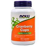 NOW Foods Cranberry Caps 天然蔓越莓 (100粒)