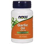 NOW Foods Garlic Oil 1500mg 大蒜精 (100粒)