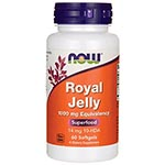 NOW Foods Royal Jelly 1500mg 蜂王乳膠囊 (60粒)