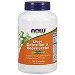 NOW Foods Liver Detoxifier and Regenerator 肝臟解毒修復再生膠囊 (180粒)
