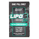 Nutrex Research LIPO-6 Black Her Ultra 女版終極熱力燃脂膠囊 (60粒)