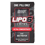 Nutrex Research LIPO-6 Black Ultra 終極熱力燃脂膠囊 (60粒)