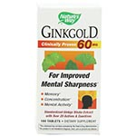 Nature's Way Ginkgold 60mg 金牌銀杏 (100粒)