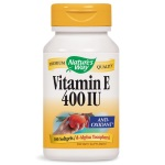 Nature's Way Vit E 400IU w/ Tocopherols 天然維他命E-400 (100粒)