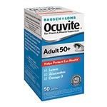 Ocuvite Eye Vitamin Mineral Supplement, Adult 50+ 盞花萃取複合膠囊 (50粒)