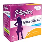 Playtex Gentle Glide Tampons, Unscented, Super Plus (36支)