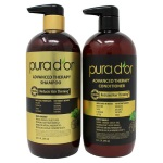 Pura d'or Advanced Therapy Regimen  草本天然生髮洗髮精/潤絲組 (24oz*2)