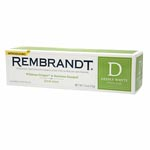 Rembrandt Peroxide Whitening Toothpaste, Fresh Mint 美白牙膏 (2.6oz)